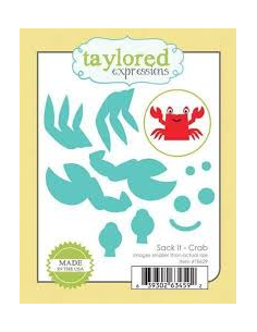 Taylored Expressions Sack it Crab