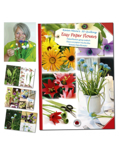 Libro Quilling Easy paper Flowers