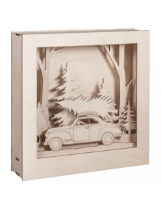 Set decorativo Coche 3D