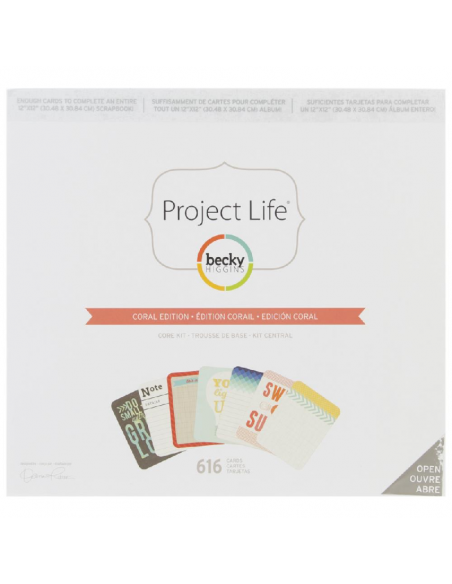 Project Life Core Kit Coral Edition