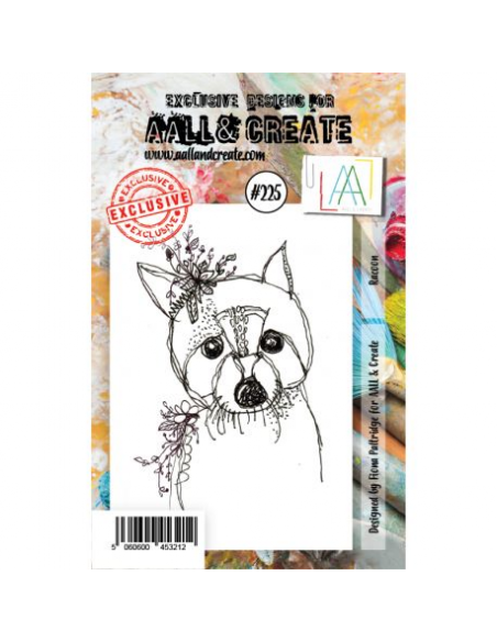Sellos AAll and Create Racoon nr.225