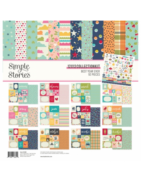 Simple Stories Best Year Ever Collection