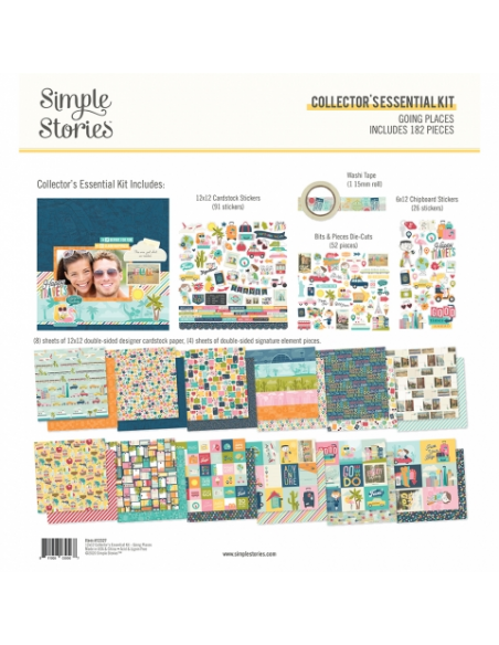Simple Stories Going Places EssentialKit