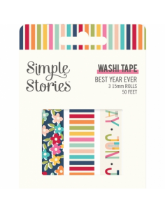 Simple Stories Best Year Ever washi tape