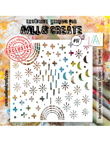 Stencil Aall and Create 97