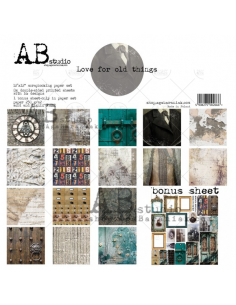 ABSTUDIO LOVE FOR OLD THINGS set papeles