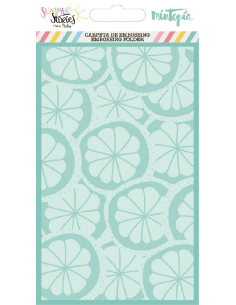 Mintopía Summer Stories embossing limon