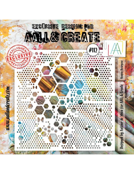 Stencil Aall and Create 112