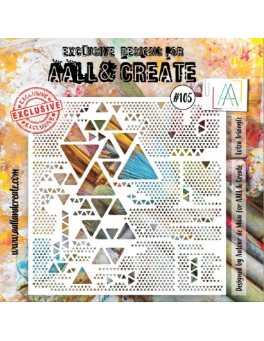 Stencil Aall and Create 105