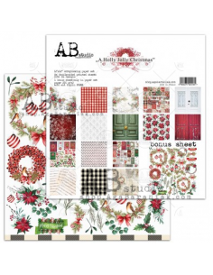 AB STUDIO Holly Jolly Christmas set