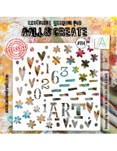 Stencil Aall and Create 114