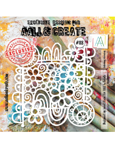 Stencil Aall and Create 118