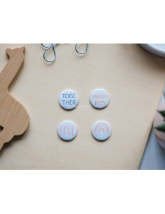 Studio Forty Don't grow up badges