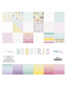 Nosotras The Mint Feather paper pad