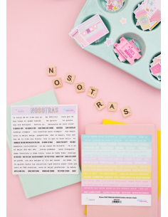 Nosotras The Mint Feather stickers