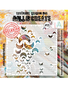 Stencil Aall and Create 123