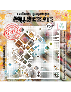 Stencil Aall and Create 124