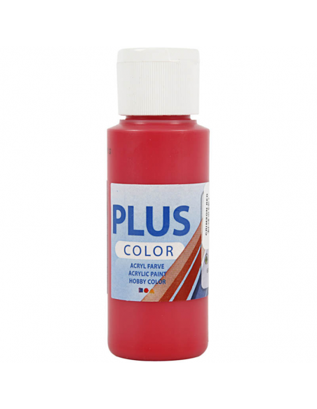 Pintura Plus color Crimson red 60 ml